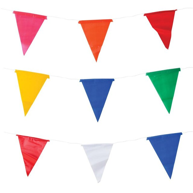 7 Color Bunting (2/Pack) คิว แฟลก