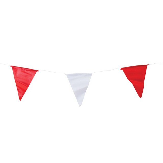 Bunting White-Red (2/Pack) คิว แฟลก
