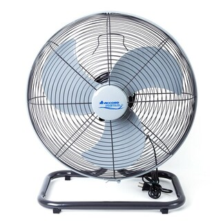 "Industrial Floor Fan 18"" Grey Accord 18 HC"