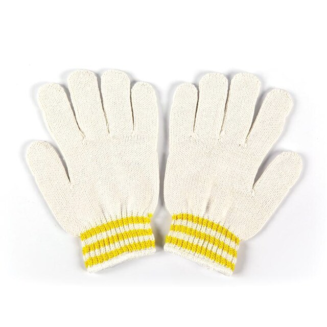 Knitted Gloves White (12/Pack) Microtex HEAVY