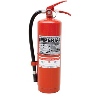 Dry Chemical Fire Extinguisher 10 Pound Red อิมพีเรียล