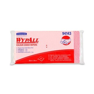 Industrial Wiping Paper Red (20Pieces) Wypall 94143