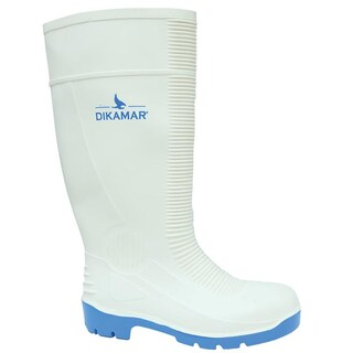 Safety Boots No.44 White DIKAMAR Administrator 4S