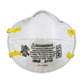 Respiratory Protection Mask (20/Pack) 3M 8210 N95