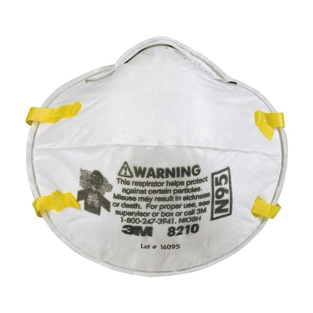 Mask 8210 20 Respiratory N95 pack Protection 3m