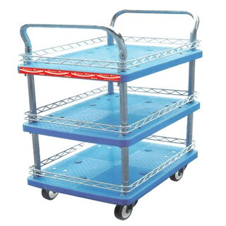 3 Shelf Trolley Happy Move HM213