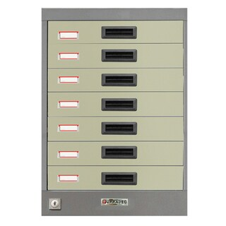 File Storage Cabinet Grey Furradec OA-007