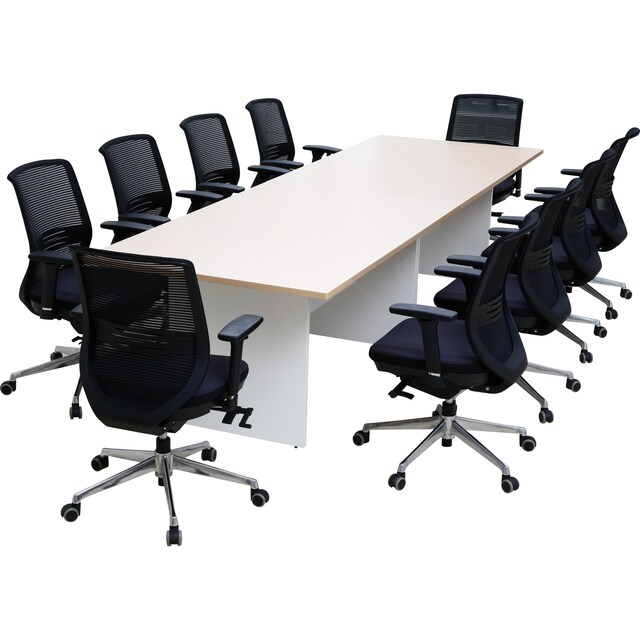 Meeting Table 8-10 Seats Legs Wood Furradec MMT3200