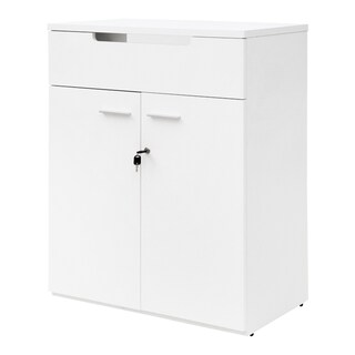 Furradec SC108E Document Cabinet White
