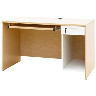 Furradec CPD120 Computer Desk Light Oak-White
