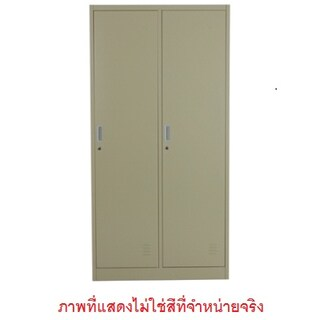 Locker Cabinet 2 Doors Grey Space Pro SPLK-6102