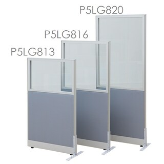 Furradec P5LG813 Partition Fabric+Glass Cerulean