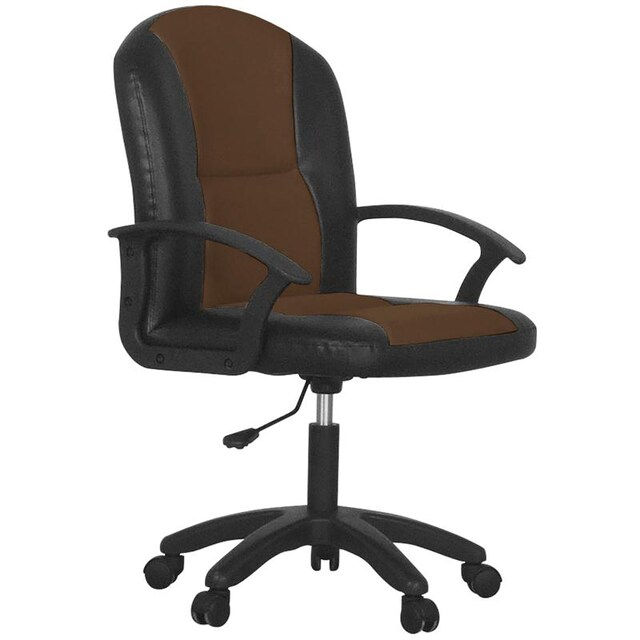 MONO Coffee Office Chair Brown/Black