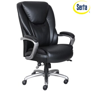 Serta Waddell Executive Chair Black