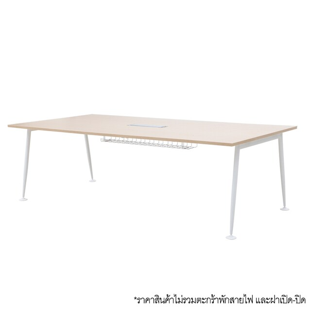 Furradec AXIZ-2190A Meeting Table Light Oak-White Legs