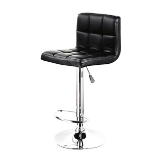 FURINTREND ST01B Bar Stool Black