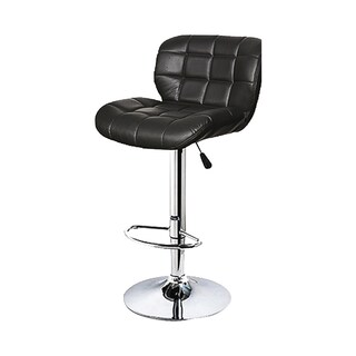 FURINTREND ST02B Bar Stool Black