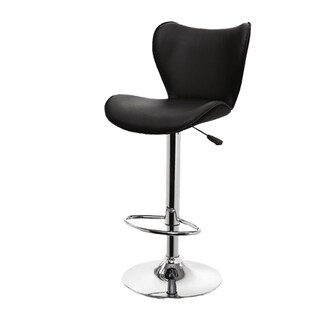 FURINTREND ST04B Bar Stool Black