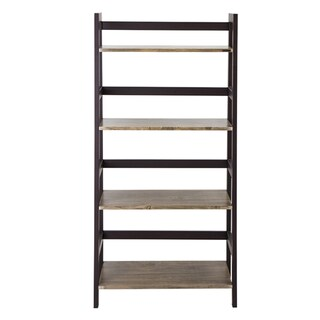 Furradec BS-1514 4-Shelf Walnut