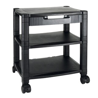 Aidata PC003D 3-Shelves Printer Cart Black
