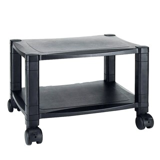Aidata PC002 2-Shelves Printer Cart Black