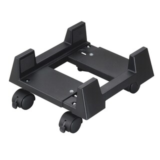 Aidata CS002MB Econo Mobile CPU Stand Black