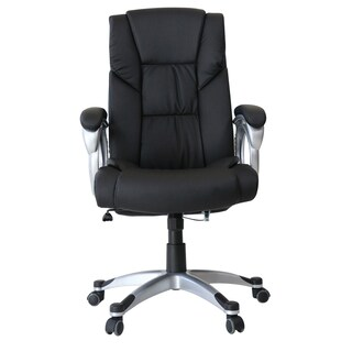 Executive Chair Black U-RO DECOR HAMBURG