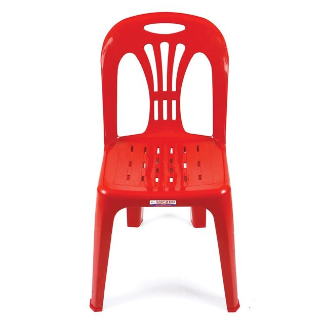 Plastic Chair Red เอเพ็กซ์