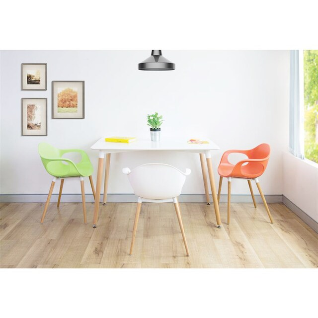 Furradec 6041-120 Middle Square Table White