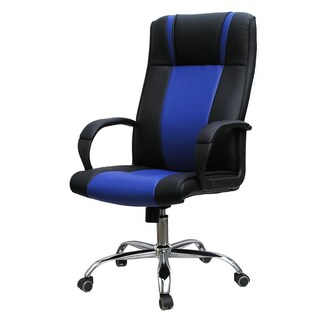 Green-Line MX1027 Executive Chair Black-Blue