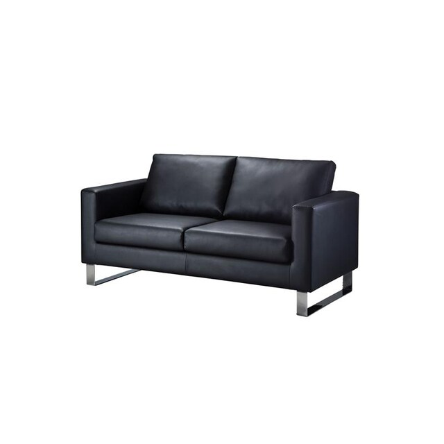 Sofa PU Leather Black Furradec LEATHER2