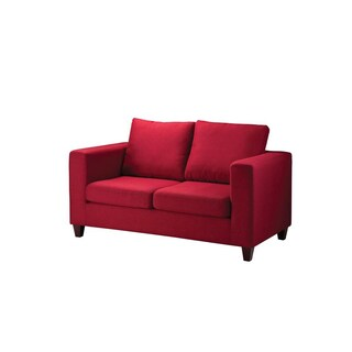 Fabric Sofa NEW41-18 Red Furradec FARA2