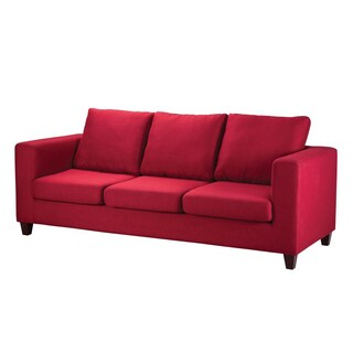 Fabric Sofa NEW41-18 Red Furradec FARA3