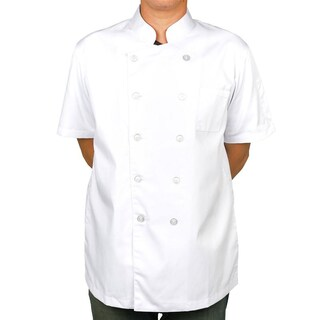 Chef Coat Short Sleeve + Logo S Premium CJH