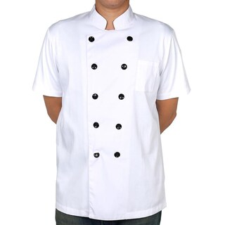 Chef Coat Short Sleeve + Logo S Premium CJH-1W2