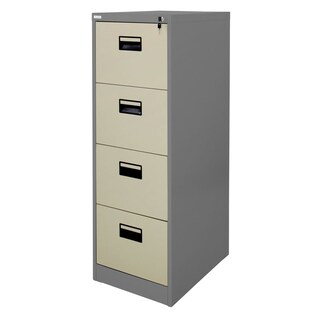 Zingular ZD-744 4 Drawer Steel Cabinet