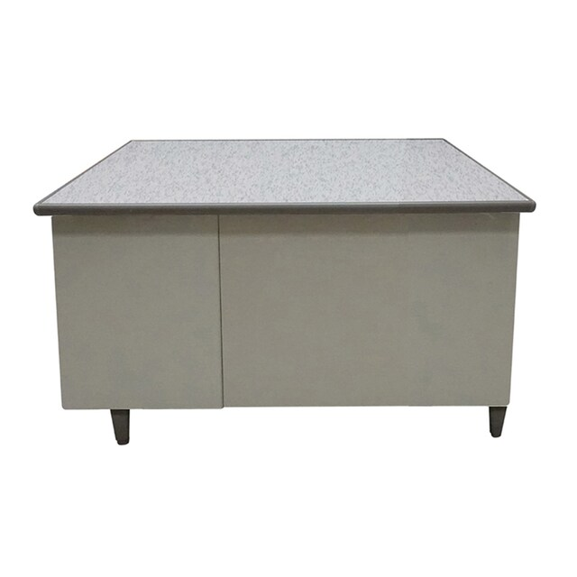 4-Foot Steel Desk Cream Furradec MT-2648