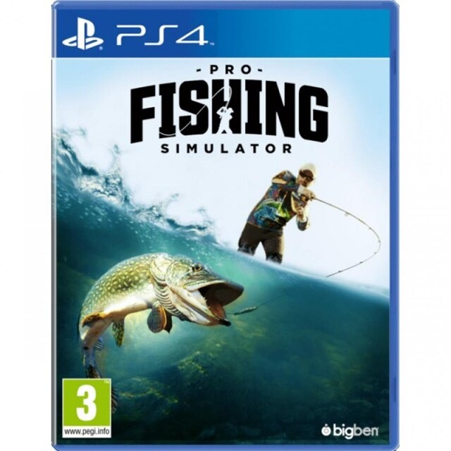 PS4 PRO FISHING SIMULATOR (EURO)