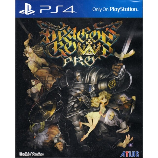 PS4 DRAGON'S CROWN PRO (ENGLISH SUBS) (ASIA)